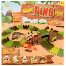 racebaan Magic Road Dino junior 141-delig