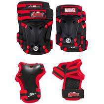 beschermerset Avengers 17,5 x 13 cm nylon zwart 6-delig