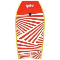 bodyboard 105 x 56 cm rood/geel