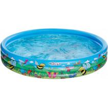 opblaaszwembad 178 x 30 cm blauw
