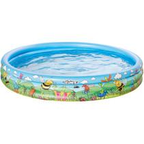 opblaaszwembad 150 x 25 cm blauw