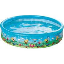 opzetzwembad 155 x 30 cm blauw