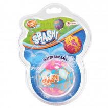 Waterstuiterbal Splash polyester roze/blauw