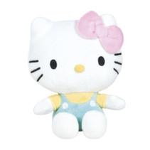 knuffel Hello Kitty junior 18 cm polyester groen/wit