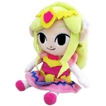 knuffel Legend of Zelda: Prinses Zelda 21 cm roze