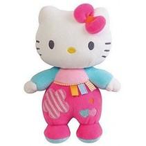 Hello Kitty Knuffel Rammelaar meisjes roze 21cm