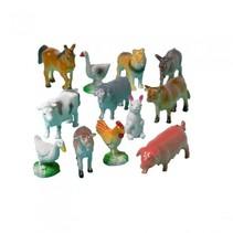 boerderijdieren speelset 12 stuks