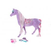 paard 25 cm paars 7-delig