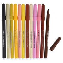 viltstiften Turbo Color junior huidtonen 12 stuks