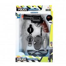 politieset met geweer 6-delig