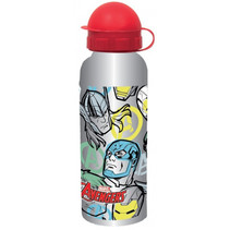 drinkbeker Avengers junior 520 ml aluminium zilver/rood
