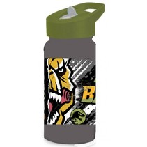 drinkfles Jurassic World junior 500 ml grijs/groen