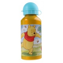 Schoolbeker Winnie The Pooh Geel 400 ml