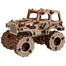 modelbouwset Superfast 6,8 cm hout goud 69-delig