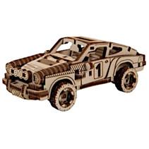 modelbouwset Superfast 9,7 cm hout goud 113-delig