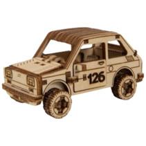 modelbouwset Superfast 8,2 cm hout goud 87-delig