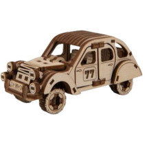 modelbouwset Superfast 8,8 cm hout goud 104-delig