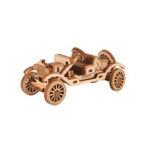 modelbouwset oldtimer Superfast 7,7 cm hout naturel