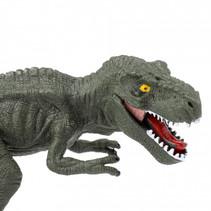 dinosaurusset junior 12,3 cm groen 2-delig