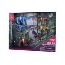 speelset dinosaurussen junior 13,5 x 8 cm 7-delig