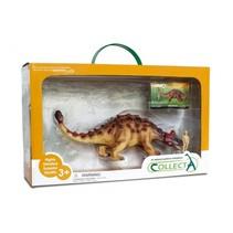 prehistorie: Ankylosaurus speelset 1:40 35 cm bruin