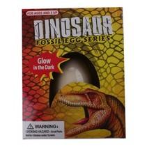 uithak-ei met glow in the dark dinosaurus 8 cm
