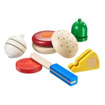 speelgoedeten Burger junior 12-delig