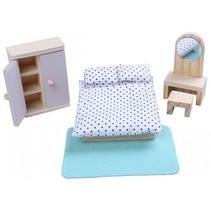 slaapkamer hout 6-delig