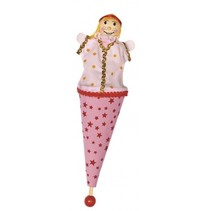 Stokpopje Sprookjesfiguur Prinsesje 25cm