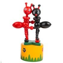 drukdier Mieren hout junior 11 x 4,5 cm