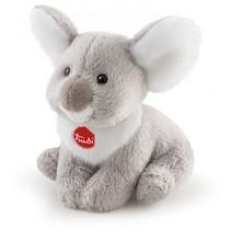 knuffel Koala junior 9 cm pluche grijs