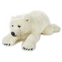 knuffelijsbeer junior 118 cm pluche wit