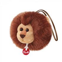 knuffel Charm leeuw 10 cm bruin