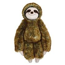 knuffel TooDoo luiaard pluche junior 60 cm bruin