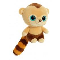 knuffel YooHoo kapucijnaap Roodee 20,3 cm