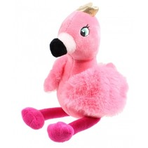 flamingoknuffel junior pluche 20 cm roze
