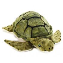 knuffeldier zeeschildpad junior 32 cm pluche groen