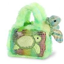 knuffel Fancy Pal schildpad 20,5 cm groen