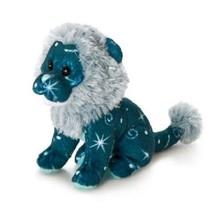 Sterrenbeeld Leeuw 9 cm blauw