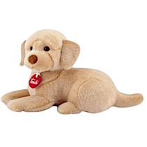 knuffelhond Labrador Liam liggend 29 cm pluche bruin