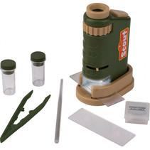 microscoopset Scout junior groen/bruin 6-delig