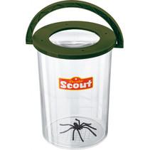 insectenbeker Scout 12,5 x 10 cm groen 2-delig