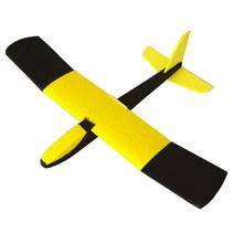 constructievliegtuig Felix junior 60 cm foam geel