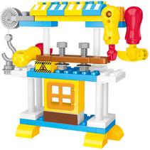 Blocks bouwset werkbank junior 50-delig