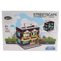 Mini City Streetscape Sports Equipment bouwset 153-delig (657010)
