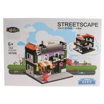 Mini City Streetscape Fruit Store bouwset 152-delig