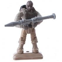 bouwset soldaat H 7 cm 32 delig