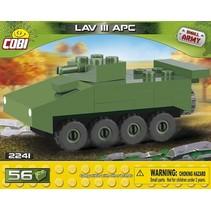 Small Army LAV III APC Nano bouwset 56-delig 2241