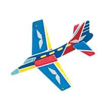 vliegtuig bouwkit 12,5 cm 8 stuks
