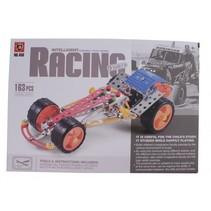 bouwpakket intelligent racing 163-stuks zilver